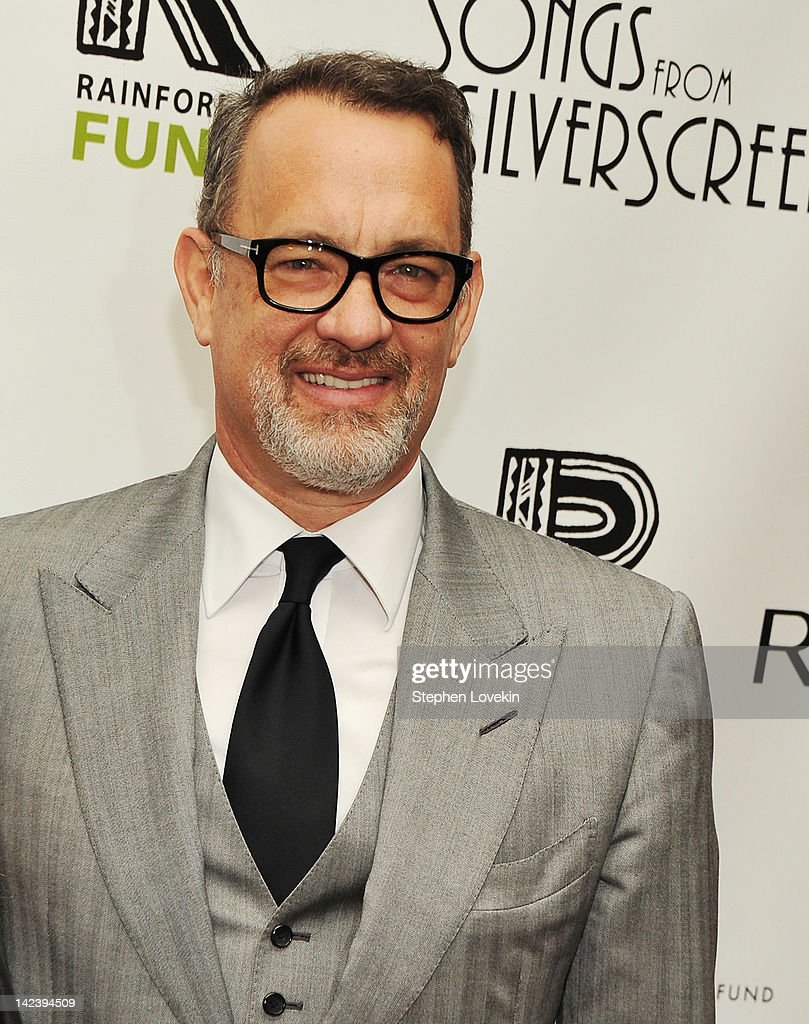 Actor <a gi-track='captionPersonalityLinkClicked' href=/galleries/search?phrase=Tom+Hanks&family=editorial&specificpeople=201790 ng-click='$event.stopPropagation()'>Tom Hanks</a> attends the after party for the 2012 Concert for the Rainforest Fund at The Pierre Hotel on April 3, 2012 in New York City.