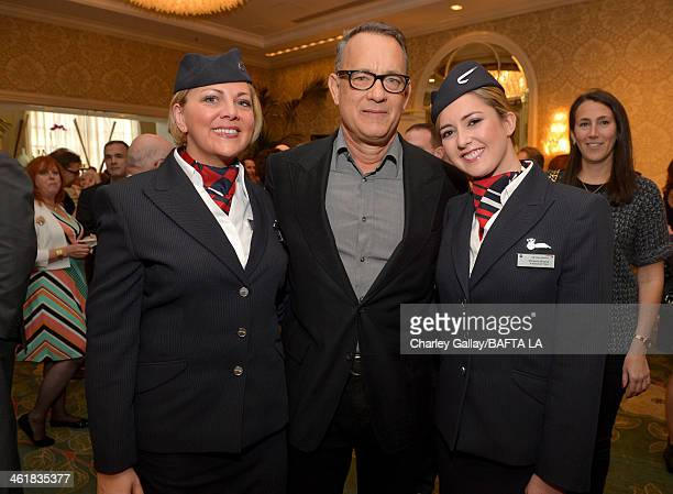 Actor Tom Hanks attends the BAFTA LA 2014 Awards Season Tea Party at the Four Seasons Hotel Los Angeles at Beverly Hills on January 11 2014 in...