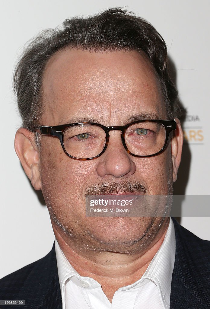 Actor Tom Hanks attends the Premiere Of 'American Masters Inventing David Geffen' at The Writers Guild of America on November 13, 2012 in Beverly Hills, California.