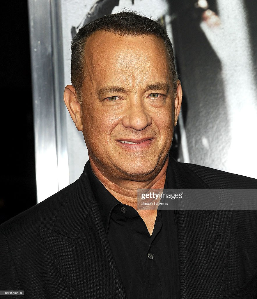 Actor Tom Hanks attends the premiere of 'Captain Phillips' at the Academy of Motion Picture Arts and Sciences on September 30, 2013 in Beverly Hills, California.