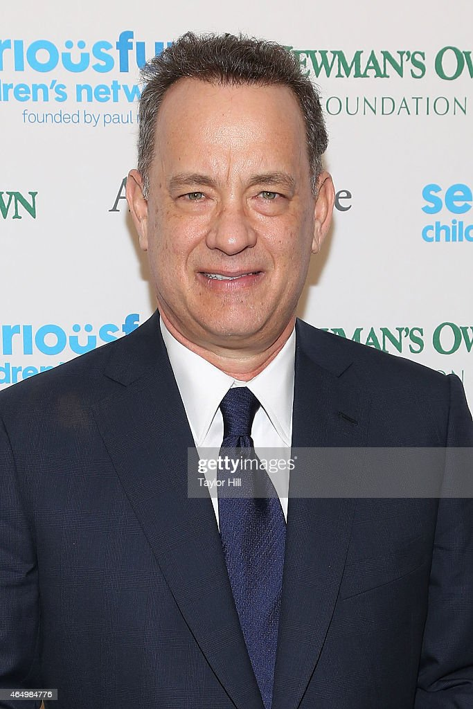 Actor <a gi-track='captionPersonalityLinkClicked' href=/galleries/search?phrase=Tom+Hanks&family=editorial&specificpeople=201790 ng-click='$event.stopPropagation()'>Tom Hanks</a> attends the SeriousFun Children's Network's New York City Gala at Avery Fisher Hall on March 2, 2015 in New York City.