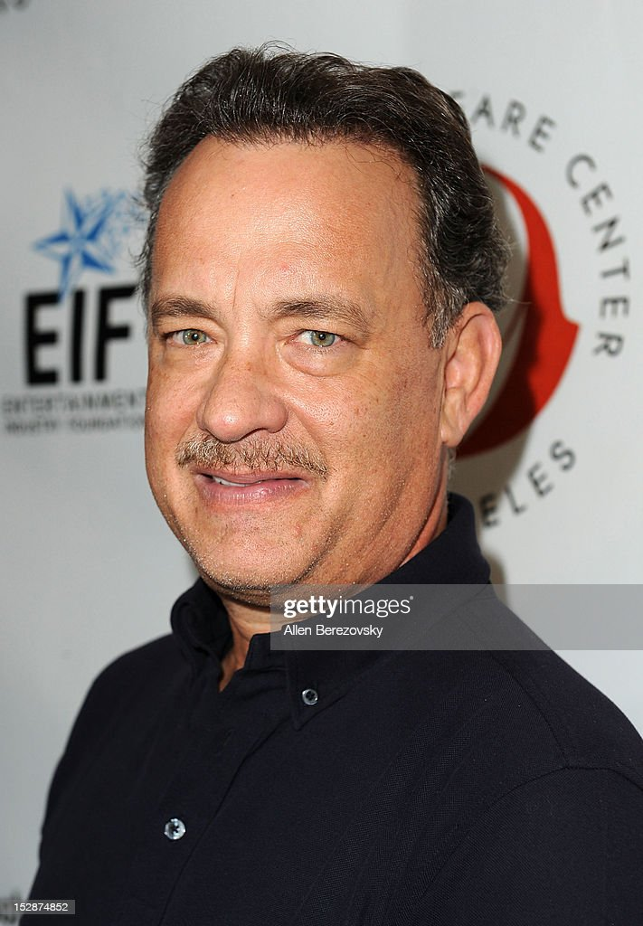 Actor Tom Hanks attends the Shakespeare Center of Los Angeles' 22nd annual 'Simply Shakespeare' reading of 'A Midsummer Night's Dream' at Freud Playhouse, UCLA on September 27, 2012 in Westwood, California.