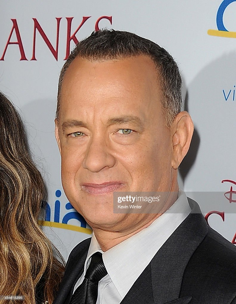 Actor <a gi-track='captionPersonalityLinkClicked' href=/galleries/search?phrase=Tom+Hanks&family=editorial&specificpeople=201790 ng-click='$event.stopPropagation()'>Tom Hanks</a> attends the U.S. premiere of Disney's 'Saving Mr. Banks', the untold backstory of how the classic film 'Mary Poppins' made it to the screen, at the Walt Disney Studios on December 9, 2013 in Burbank, California. The film opens this Holiday season.