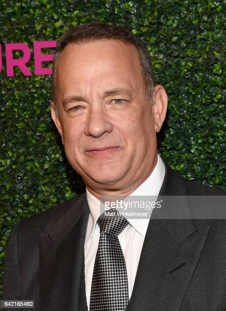 Actor Tom Hanks attends WCRF's 'An Unforgettable Evening' presented by Saks Fifth Avenue at the Beverly Wilshire Four Seasons Hotel on February 16...