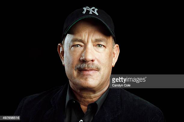 Actor Tom Hanks from 'Bridge of Spies' is photographed for Los Angeles Times on October 4 2015 in New York City PUBLISHED IMAGE CREDIT MUST READ...