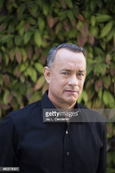 Actor Tom Hanks is photographed for Los Angeles Times on September 29 2013 in Culver City California PUBLISHED IMAGE CREDIT MUST READ Jay L...