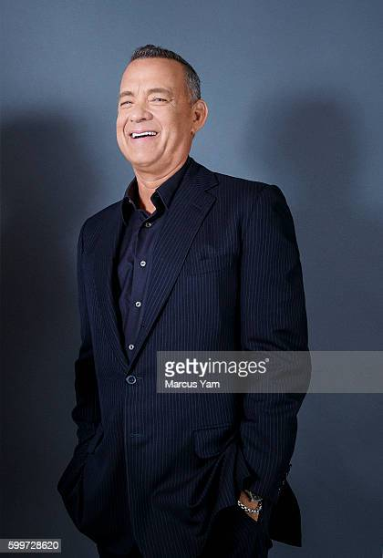 Actor Tom Hanks of 'Sully' is photographed for Los Angeles Times on August 28 2016 in Los Angeles California PUBLISHED IMAGE