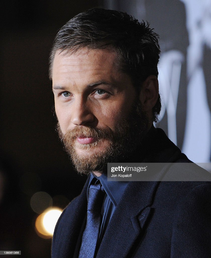 Actor <a gi-track='captionPersonalityLinkClicked' href=/galleries/search?phrase=Tom+Hardy+-+Actor&family=editorial&specificpeople=2209780 ng-click='$event.stopPropagation()'>Tom Hardy</a> arrives at the Los Angeles Premiere 'This Means War' at Grauman's Chinese Theatre on February 8, 2012 in Hollywood, California.