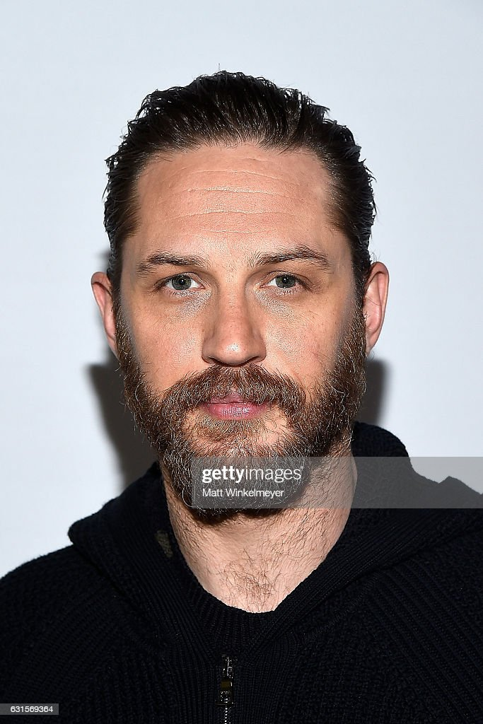 2017 Actor Tom Hardy arrives at the Winter TCA Tour FX Starwalk at Langham Hotel on January 12, 2017 in Pasadena, California.