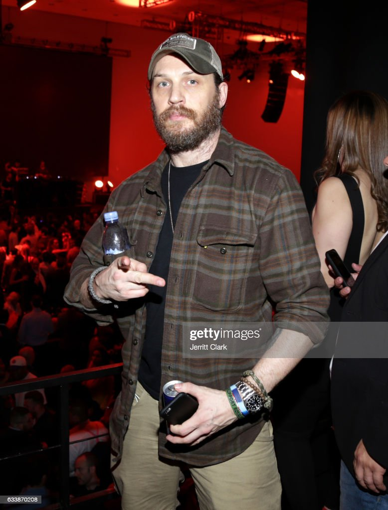 Actor Tom Hardy at the Rolling Stone Live: Houston presented by Budweiser and Mercedes-Benz on February 4, 2017 in Houston, Texas. Produced in partnership with Talent Resources Sports.