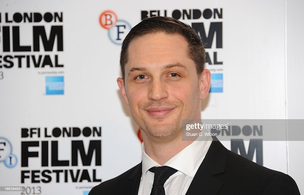 Actor <a gi-track='captionPersonalityLinkClicked' href=/galleries/search?phrase=Tom+Hardy+-+Actor&family=editorial&specificpeople=2209780 ng-click='$event.stopPropagation()'>Tom Hardy</a> attends a screening of 'Locke' during the 57th BFI London Film Festival at Odeon West End on October 18, 2013 in London, England.