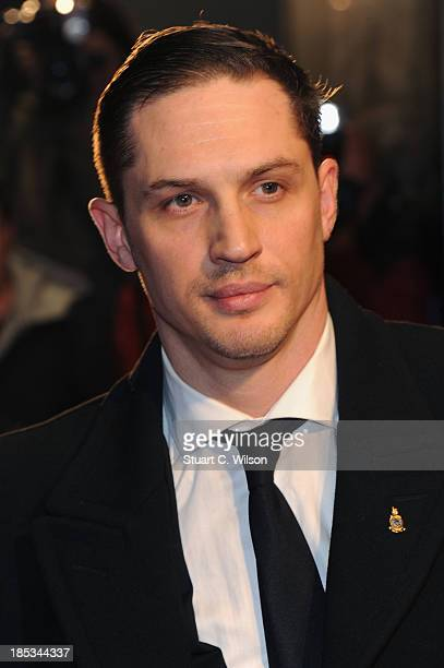 Actor Tom Hardy attends a screening of 'Locke' during the 57th BFI London Film Festival at Odeon West End on October 18 2013 in London England
