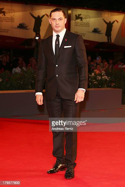 Actor Tom Hardy attends the 'Locke' Premiere during the 70th Venice International Film Festival at the Sala Darsena on September 2 2013 in Venice...