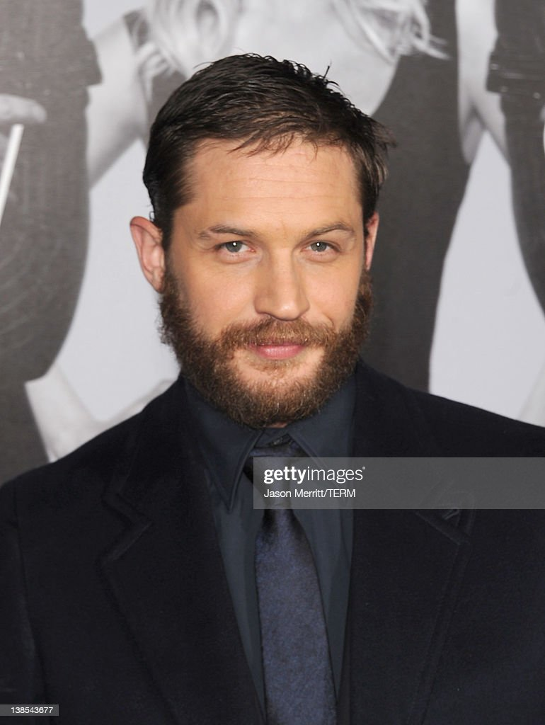 Actor Tom Hardy attends the premiere of Twentieth Century Fox's 'This Means War' held at Grauman's Chinese Theatre on February 8, 2012 in Hollywood, California.