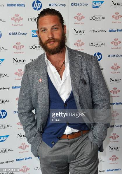 Actor Tom Hardy attends The Prince's Trust and L'Oreal Paris Celebrate Success Awards at the Odeon Leicester Square on March 14 2012 in London England