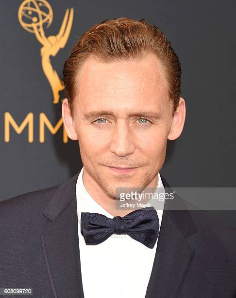 Actor Tom Hiddleston arrives at the 68th Annual Primetime Emmy Awards at Microsoft Theater on September 18 2016 in Los Angeles California