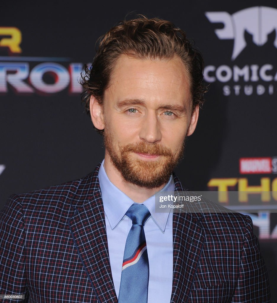 Actor Tom Hiddleston arrives at the Los Angeles Premiere 'Thor: Ragnarok' on October 10, 2017 in Hollywood, California.