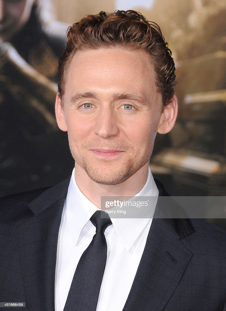 Actor Tom Hiddleston arrives at the Los Angeles Premiere 'Thor: The Dark World' on November 4, 2013 at the El Capitan Theatre in Hollywood, California.