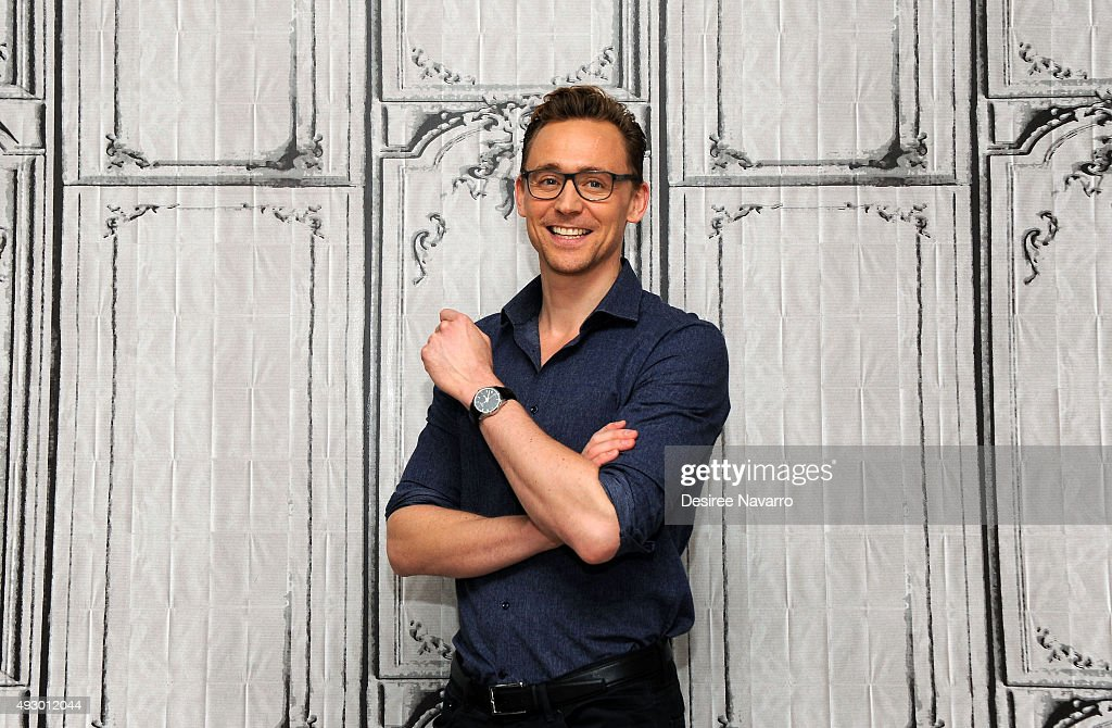 Actor <a gi-track='captionPersonalityLinkClicked' href=/galleries/search?phrase=Tom+Hiddleston&family=editorial&specificpeople=4686407 ng-click='$event.stopPropagation()'>Tom Hiddleston</a> attends AOL BUILD Presents 'Crimson Peak' at AOL Studios In New York on October 16, 2015 in New York City.