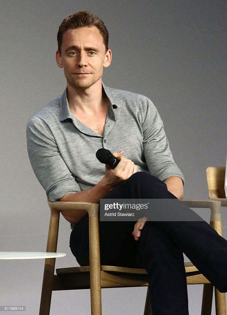 "Apple Store Soho Presents Meet The Actor: Tom Hiddleston and Wrenn Schmidt, ""I Saw the Light"""