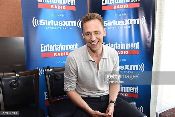Actor Tom Hiddleston attends SiriusXM's Entertainment Weekly Radio Channel Broadcasts From ComicCon 2016 at Hard Rock Hotel San Diego on July 22 2016...