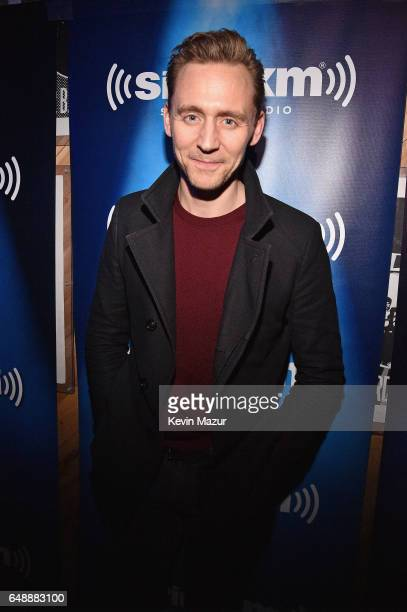 Actor Tom Hiddleston attends SiriusXM's 'Secret Show' Series with Ed Sheeran at The Studio at Webster Hall on March 6 2017 in New York City...