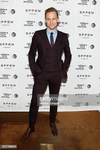 Actor Tom Hiddleston attends the 2016 Tribeca Film Festival After Party For HighRise Sponsored By EFFEN Vodka at The Top of The Standard at The...