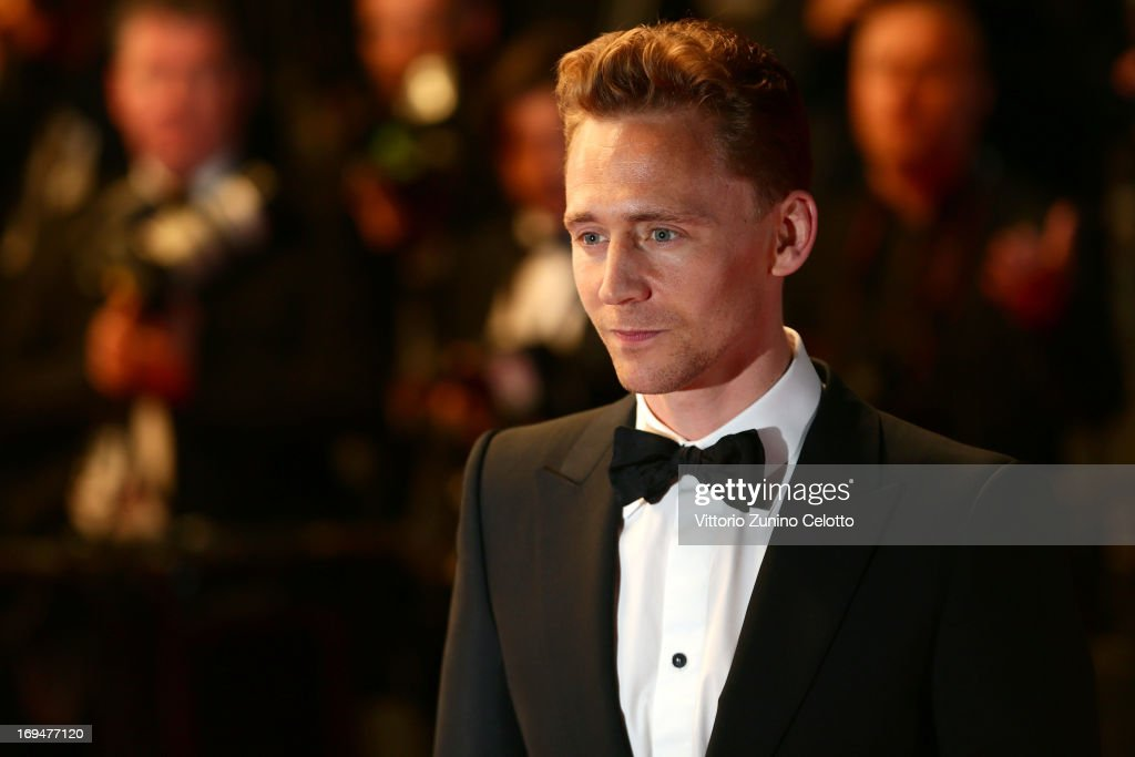 Actor <a gi-track='captionPersonalityLinkClicked' href=/galleries/search?phrase=Tom+Hiddleston&family=editorial&specificpeople=4686407 ng-click='$event.stopPropagation()'>Tom Hiddleston</a> attends the 'Only Lovers Left Alive' premiere during The 66th Annual Cannes Film Festival at the Palais des Festivals on May 25, 2013 in Cannes, France.