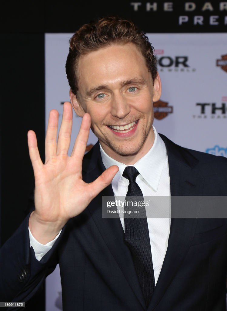 Actor <a gi-track='captionPersonalityLinkClicked' href=/galleries/search?phrase=Tom+Hiddleston&family=editorial&specificpeople=4686407 ng-click='$event.stopPropagation()'>Tom Hiddleston</a> attends the premiere of Marvel's 'Thor: The Dark World' at the El Capitan Theatre on November 4, 2013 in Hollywood, California.