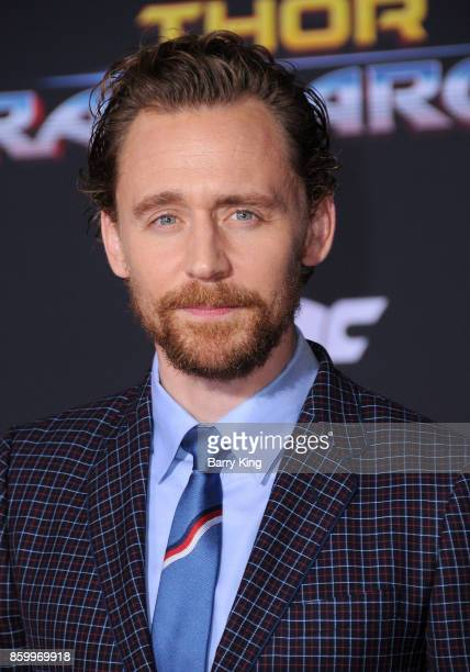 Actor Tom Hiddleston attends the World premiere of Disney and Marvel's 'Thor Ragnarok' at El Capitan Theatre on October 10 2017 in Los Angeles...