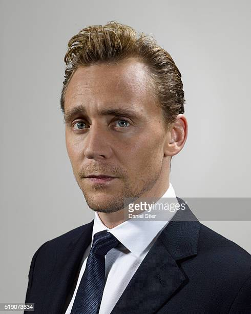 Actor Tom Hiddleston is photographed for the Observer on January 5 2016 in London England