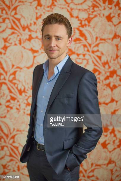 Actor Tom Hiddleston is photographed for USA Today on November 1 2013 in New York City