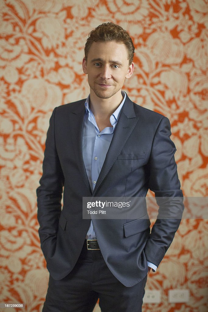 Actor <a gi-track='captionPersonalityLinkClicked' href=/galleries/search?phrase=Tom+Hiddleston&family=editorial&specificpeople=4686407 ng-click='$event.stopPropagation()'>Tom Hiddleston</a> is photographed for USA Today on November 1, 2013 in New York City. PUBLISHED IMAGE.