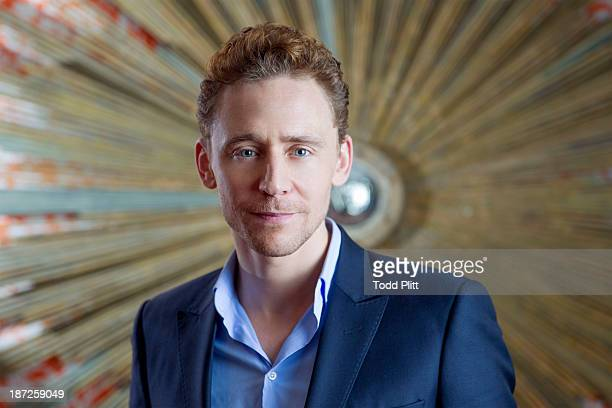 Actor Tom Hiddleston is photographed for USA Today on November 1 2013 in New York City PUBLISHED IMAGE