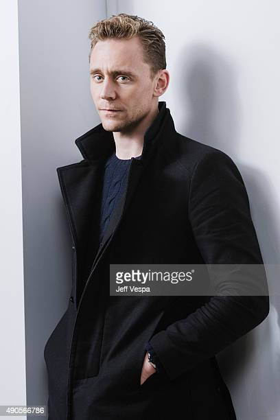 Actor Tom Hiddleston of 'High Rise' poses for a portrait at the 2015 Toronto Film Festival at the TIFF Bell Lightbox on September 15 2015 in Toronto...