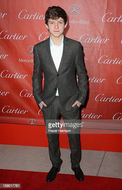 Actor Tom Holland arrives at The 24th Annual Palm Springs International Film Festival Awards Gala on January 5 2013 in Palm Springs California
