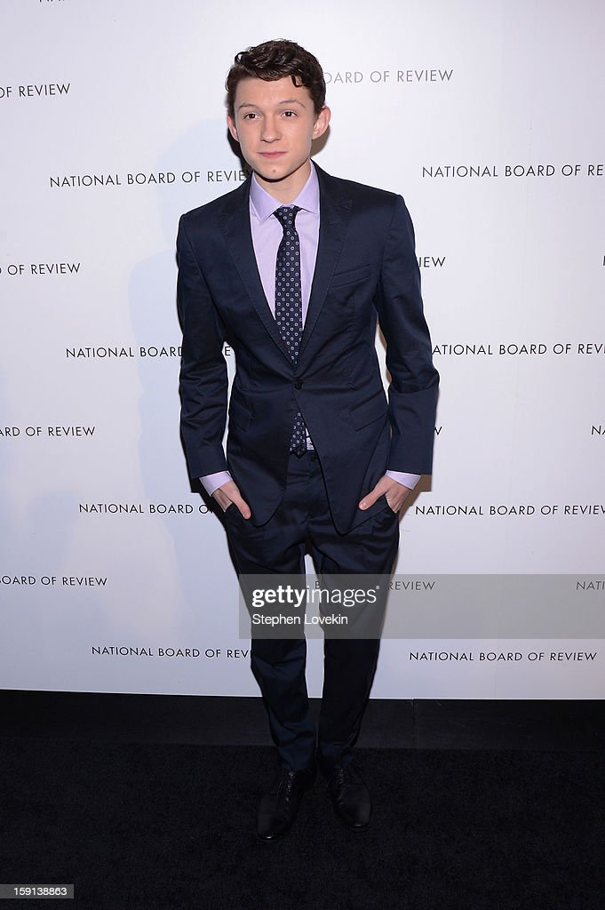 Actor Tom Holland attends the 2013 National Board Of Review Awards at Cipriani 42nd Street on January 8, 2013 in New York City.