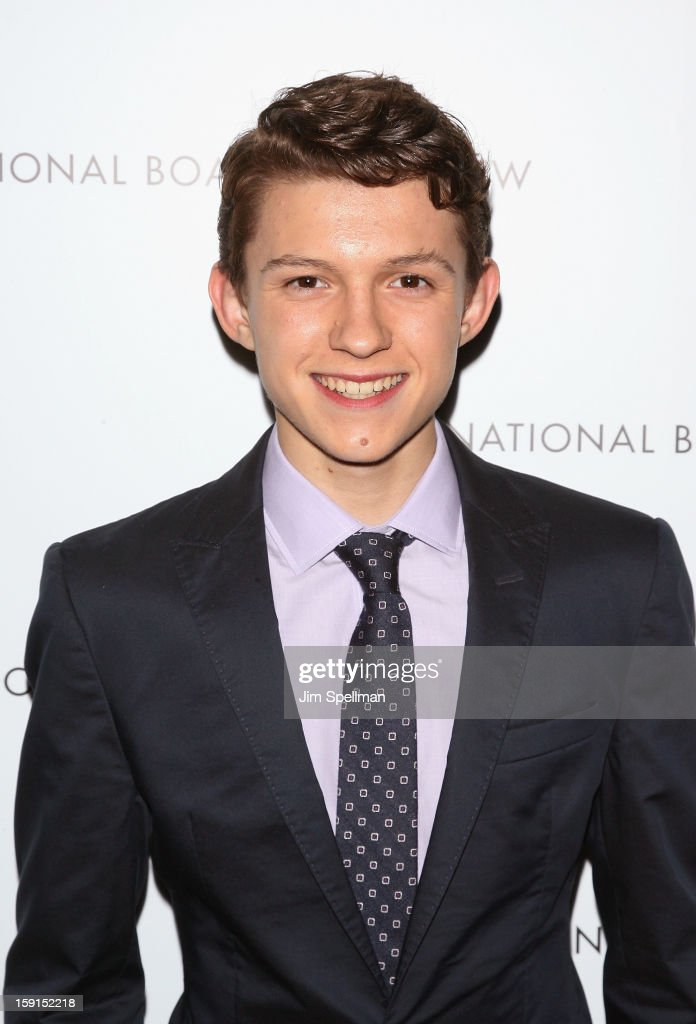 Actor <a gi-track='captionPersonalityLinkClicked' href=/galleries/search?phrase=Tom+Holland+-+Actor&family=editorial&specificpeople=9843230 ng-click='$event.stopPropagation()'>Tom Holland</a> attends the 2013 National Board Of Review Awards Gala at Cipriani Wall Street on January 8, 2013 in New York City.