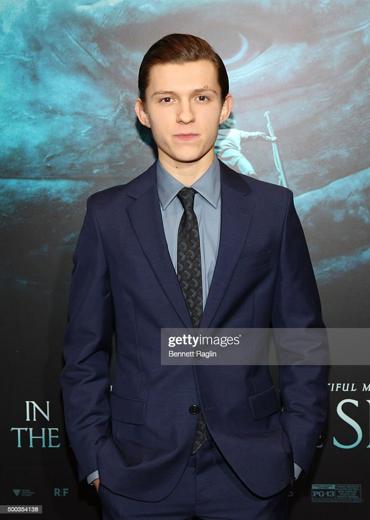 Actor <a gi-track='captionPersonalityLinkClicked' href=/galleries/search?phrase=Tom+Holland+-+Actor&family=editorial&specificpeople=9843230 ng-click='$event.stopPropagation()'>Tom Holland</a> attends the 'In The Heart Of The Sea' New York Premiere at Frederick P. Rose Hall, Jazz at Lincoln Center on December 7, 2015 in New York City.