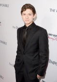 Actor Tom Holland attends the Los Angeles premiere of Summit Entertainment's 'The Impossible' at ArcLight Cinemas Cinerama Dome on December 10 2012...