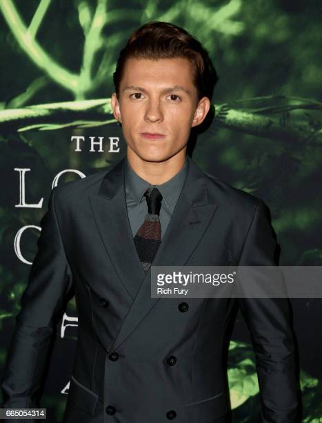 Actor Tom Holland attends the premiere of Amazon Studios' 'The Lost City Of Z' at ArcLight Hollywood on April 5 2017 in Hollywood California