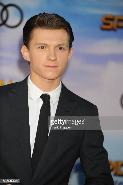 Actor Tom Holland attends the premiere of Columbia Pictures' 'SpiderMan Homecoming' held at TCL Chinese Theatre on June 28 2017 in Hollywood...