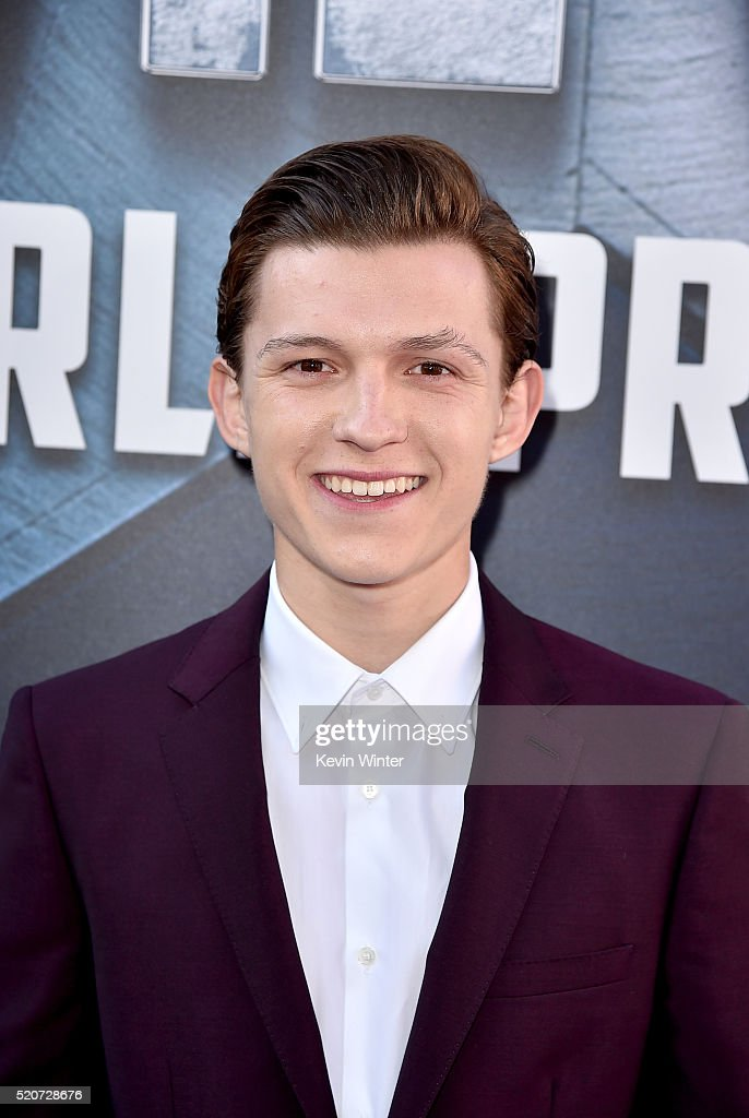Actor <a gi-track='captionPersonalityLinkClicked' href=/galleries/search?phrase=Tom+Holland+-+Actor&family=editorial&specificpeople=9843230 ng-click='$event.stopPropagation()'>Tom Holland</a> attends the premiere of Marvel's 'Captain America: Civil War' at Dolby Theatre on April 12, 2016 in Los Angeles, California.