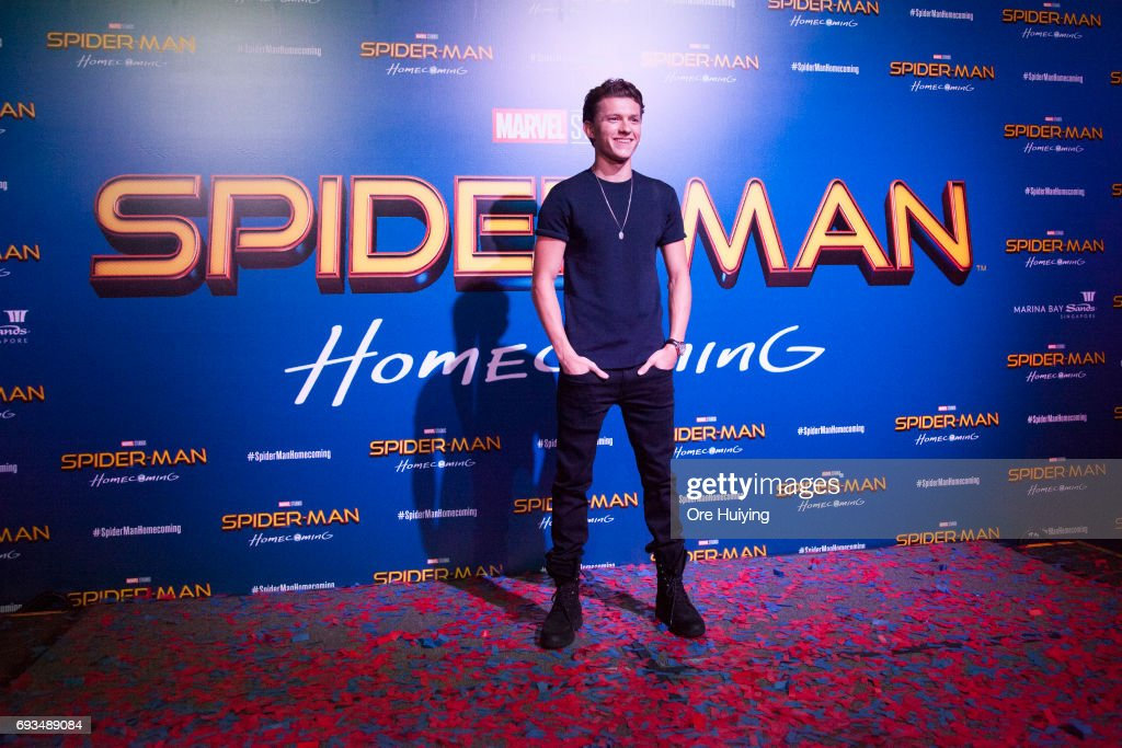 """Spiderman"" Press Conference And Red Carpet Fan Event"