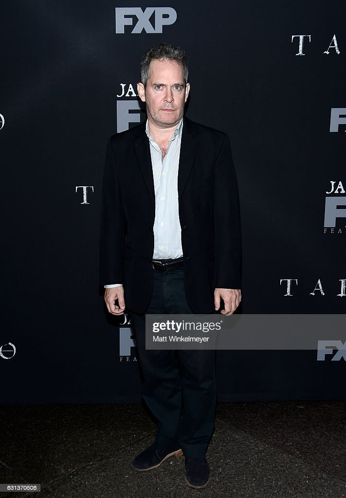Actor Tom Hollander attends the premiere of FX's 'Taboo' at DGA Theater on January 9, 2017 in Los Angeles, California.