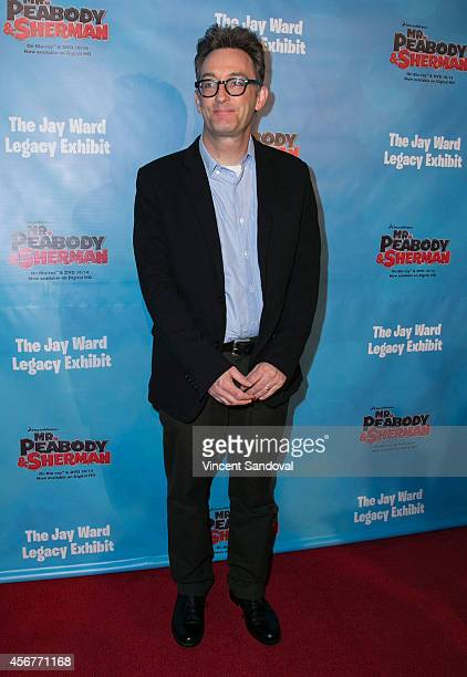Actor Tom Kenny attends the DreamWorks Animation and Twentieth Century Fox Home Entertainment Present The Jay Ward Legacy exhibit at The Paley Center...