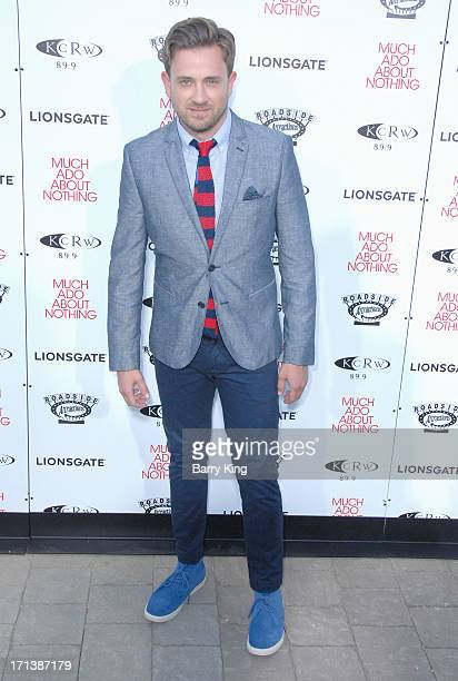 Actor Tom Lenk arrives at the Los Angeles screening of 'Much Ado About Nothing' held at Oscars Outdoors on June 5 2013 in Hollywood California