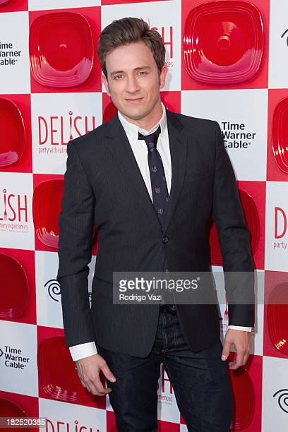 Actor Tom Lenk attends Project Angel Food's 2nd Annual DELISH Tasting Experience at Siren Studios on September 29 2013 in Hollywood California