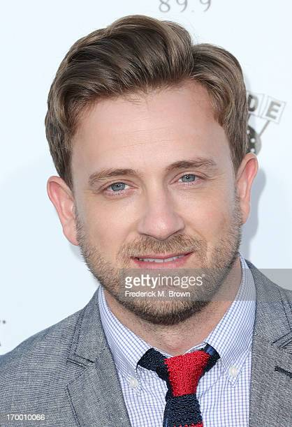 Actor Tom Lenk attends the screening of Lionsgate and Roadside Attractions' 'Much Ado About Nothing' at Oscar's Outdoors Hollywood theater on June 5...