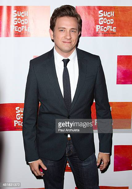 Actor Tom Lenk attends the screening of 'Such Good People' at the Majestic Crest Theatre on July 7 2014 in Los Angeles California